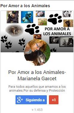 Por Amor a los Animales-Marianela Garcet